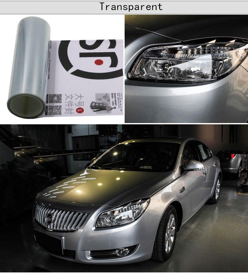/30CMX100CM Auto Car Light Headlight Taillight Tint styling waterproof Vinyl Film Sticker Option