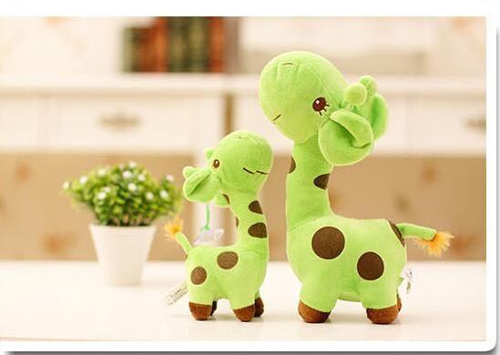 Unisex Baby Kid Child Girls Cute Gift Plush Giraffe Soft Toy Animal Dear Doll Christmas Birthday Happy Gifts