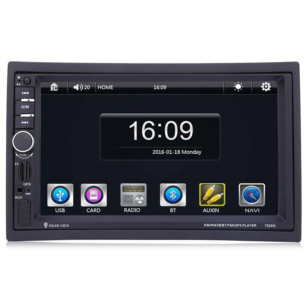 7020G Auto MP5 Player mit Rückfahrkamera Bluetooth FM GPS 7