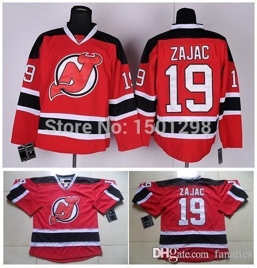 ... 2017 2016 19 Travis Zajac Jersey New Jersey Devils Hockey Je Mens Reebok  Travis Zajac Authentic White Away ... 1b183349e