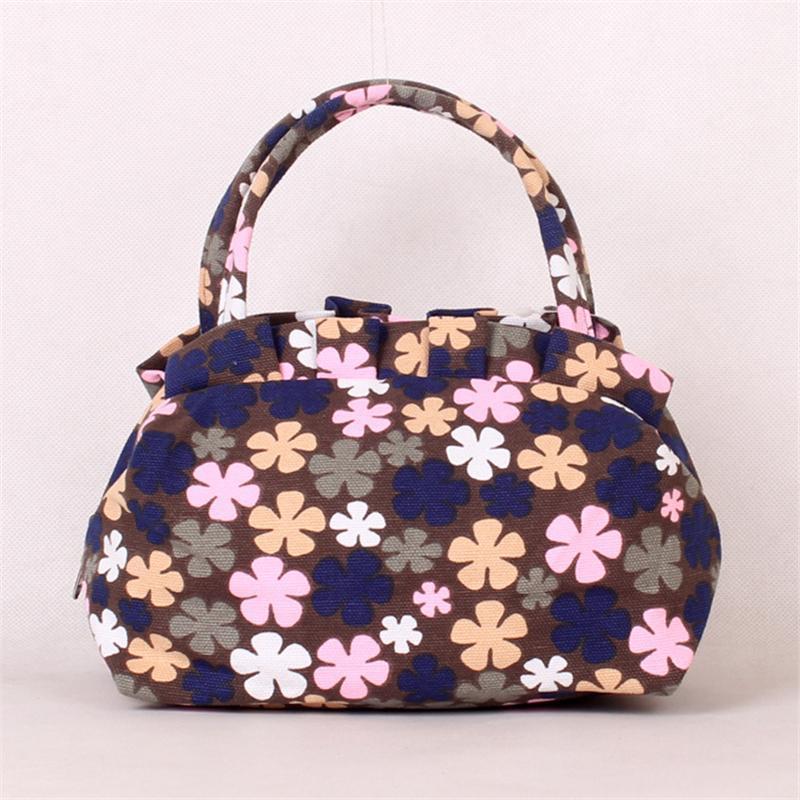 37d8ee2b7b04 Designer Handbags Totes Bags Women Canvas Shells Cute Ladies Flowers Small Hand  Bag Travel Luggage Bag Ladies Simple Fashion Clutch Leather Bags For Women  ...