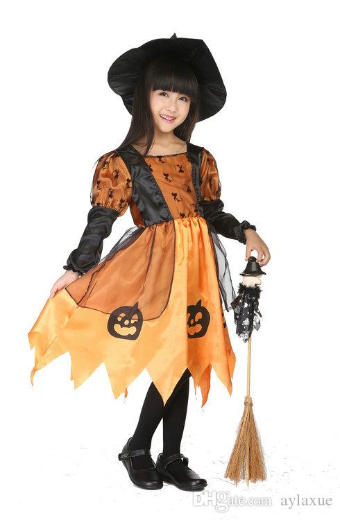 2018 Clearance Few In Stock Pettiskirt Baby Kids Cartoon Cosplay Set Halloween Witch Costumes Childrenu0027S Pumpkin Spiders Costumes From Aylaxue ...  sc 1 st  DHgate.com & 2018 Clearance Few In Stock Pettiskirt Baby Kids Cartoon Cosplay Set ...