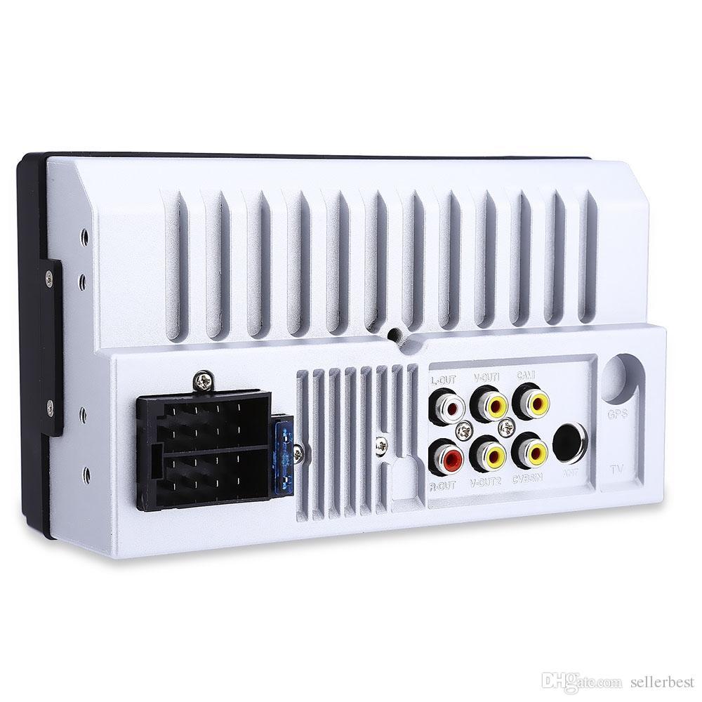 Araba Radyo 7010B 2 Din 7 '' HD Dokunmatik Ekran Bluetooth Stereo Radyo FM / MP3 / MP4 / Ses / Video / USB Oto Elektroniği Dash MP5 Çalar