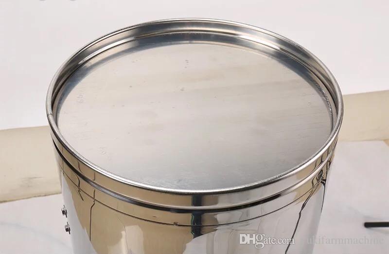 304 нержавеющая сталь мед экстрактор 2 кадров мед сепаратор машина утолщение прозрачная крышка пчеловодство оборудование инструменты