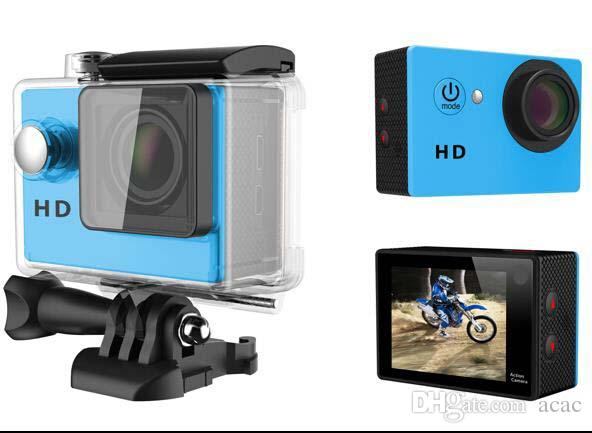 """2017- Waterproof Sports Camera SJ5000 Style A8 HD Action Camera Diving 720P 30M Cheap 2"""" 120° View Mini DV digital retail package"""
