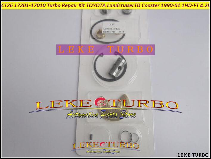 Turbo Repair Kit rebuild For TOYOTA Landcruiser TD Coaster 4.2L 1990-01 160HP 1HDT 1HD-FT CT26 17201-17010 Turbocharger (1)