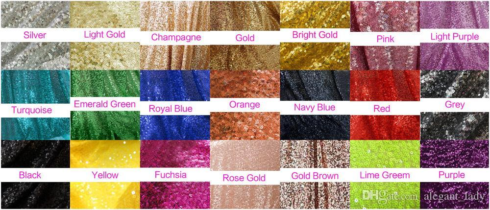 so beautiful amazing shiny sequins table clothes custom make for your table round Rectangle SALE Rose Gold Sequin Table Runner