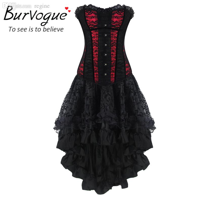 ff63569a59 Wholesale-Burvogue New Women Sexy Waist Training Corsets And Bustier ...