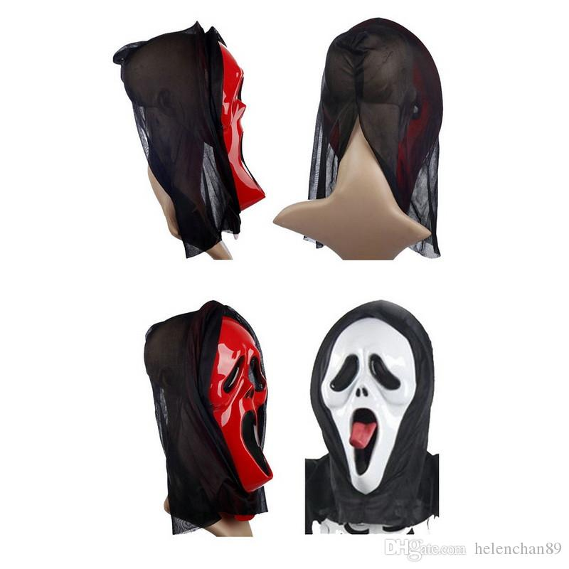 Halloween Mask Costume Bloody Face Scary Mask Horror Full Head Fancy Dress Mascaras Christmas Halloween Party Accessories LH1278