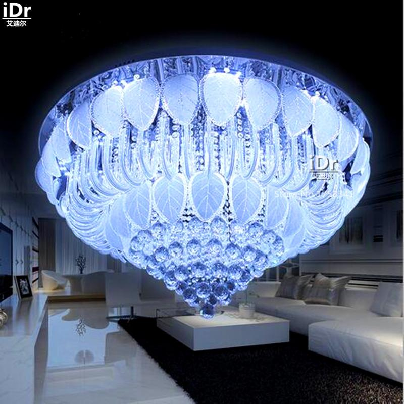 Remote Controlled Luxurious Atmosphere Living Room Lamp Glass - Clap lights for bedroom