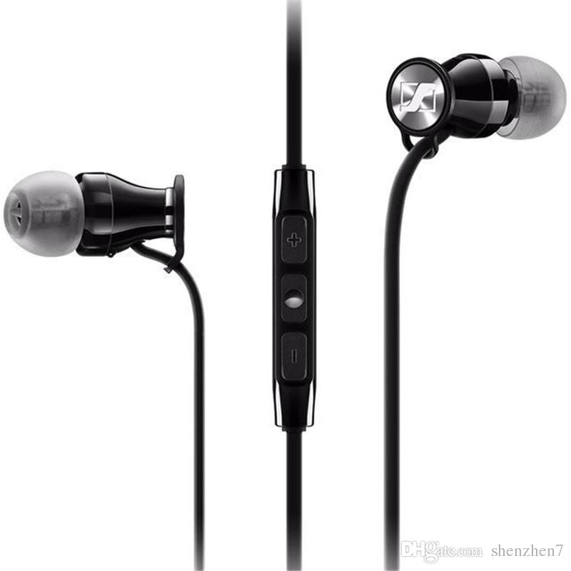 Momentum In-Ear M2 IEI Earphones HiFi Headphones Noise Cancelling Piston Earbuds Mega Bass with Remote & Mic for Mobile Phone EAR243