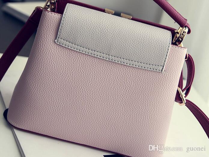 Top-Qualität Leder berühmte Designer-Marke V Taschen Frauen Leder Handtasche hohe Qualität Kleine Schulter Umhängetasche für Mädchen