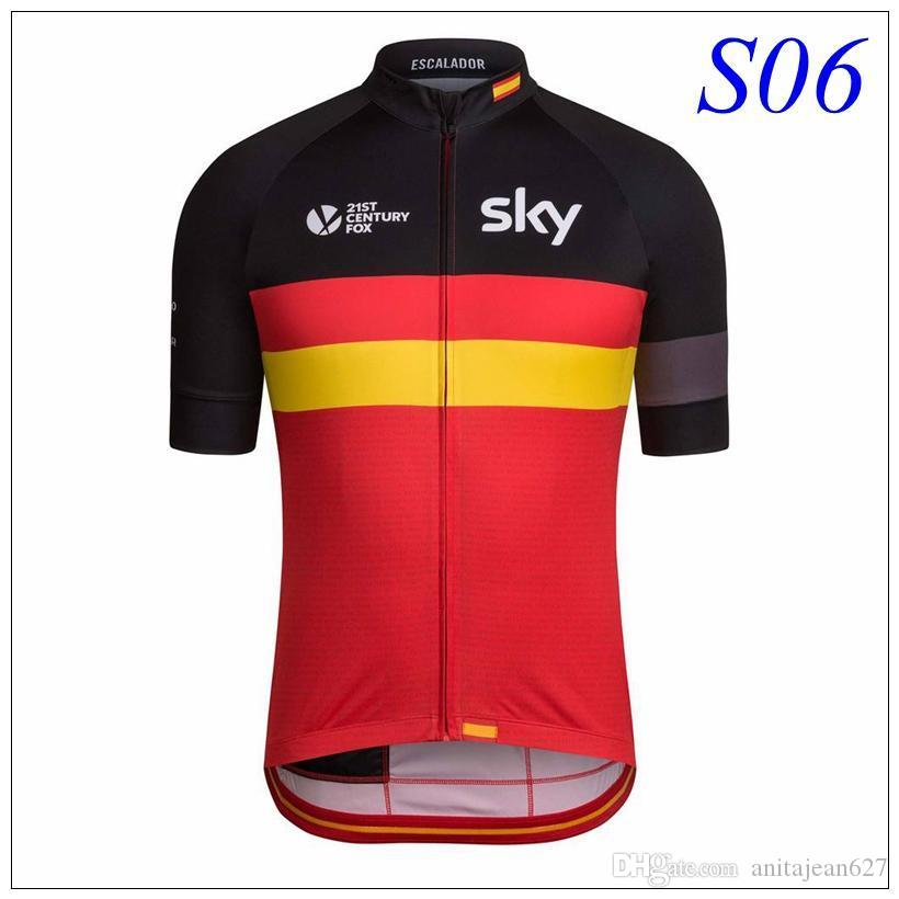 2016 Team Sky Bicycle Cycling Jersey Tour De France Cycling Tops Bike  Bicicleta Ciclismo Bikes Clothess Maillot Ropa Clothing Coat Cycling Vest  Popular T ... eac7683df