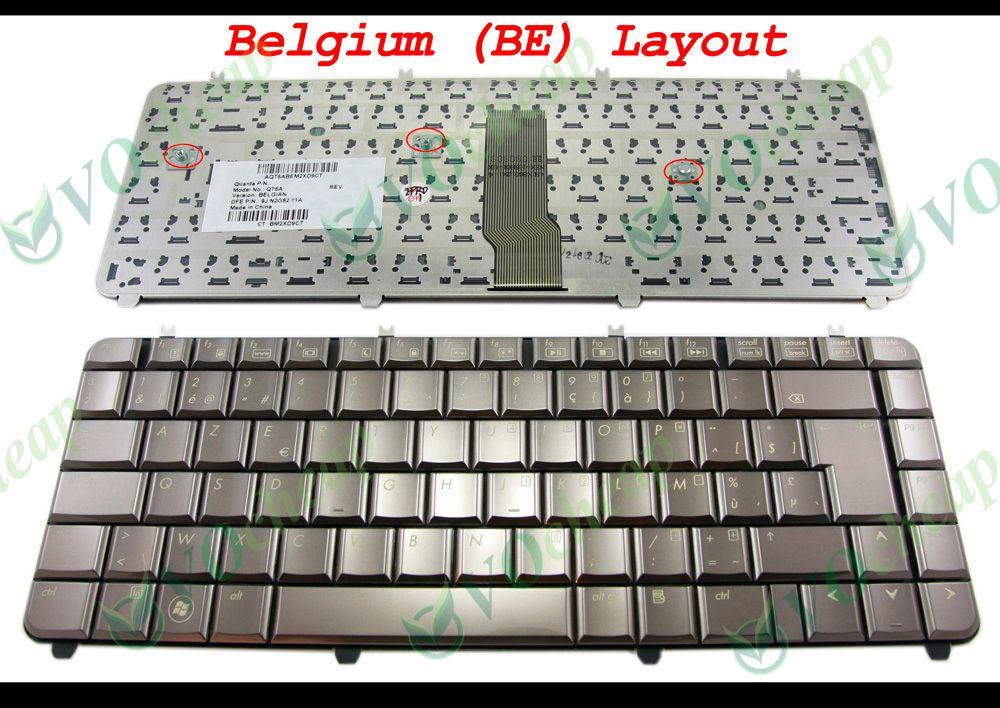 2018 New Azerty Notebook Laptop Keyboard For Hp Pavilion Dv5 Dv5 ...