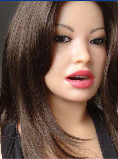 muñeca del sexo muñecas del amor Juguetes sexuales para adultos Juguetes sexuales semisuprimibles del pecho real juguete seductor del pelo del pubis,