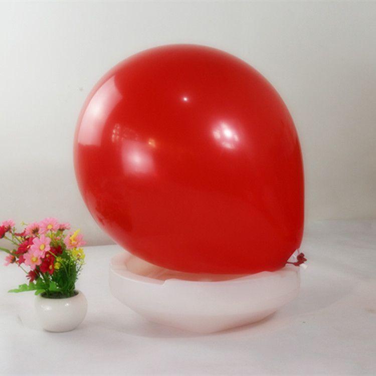 18 polegadas Látex Rodada Grandes Balões de Cores Do Partido Balão de Casamento Feliz Aniversário Aniversário Decor 45 cm novo