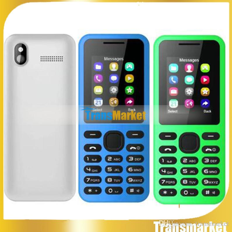 2016 New Fashion W130 1.8 inch mobile phone Dual SIM Bluetooth Unlock cell phones Multi-Color mini cheap phones