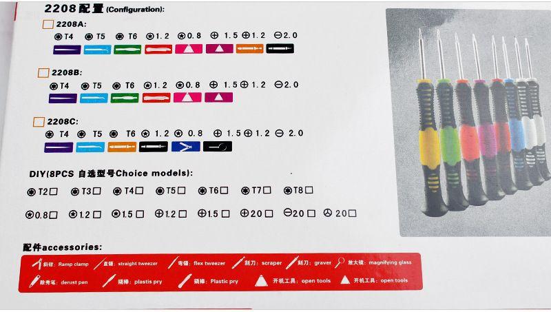 Großhandel 16 in 1 Repair Tools Schraubendreher Set Kit für Handy iPhone 6 5S 4S 3GS iPad Samsung