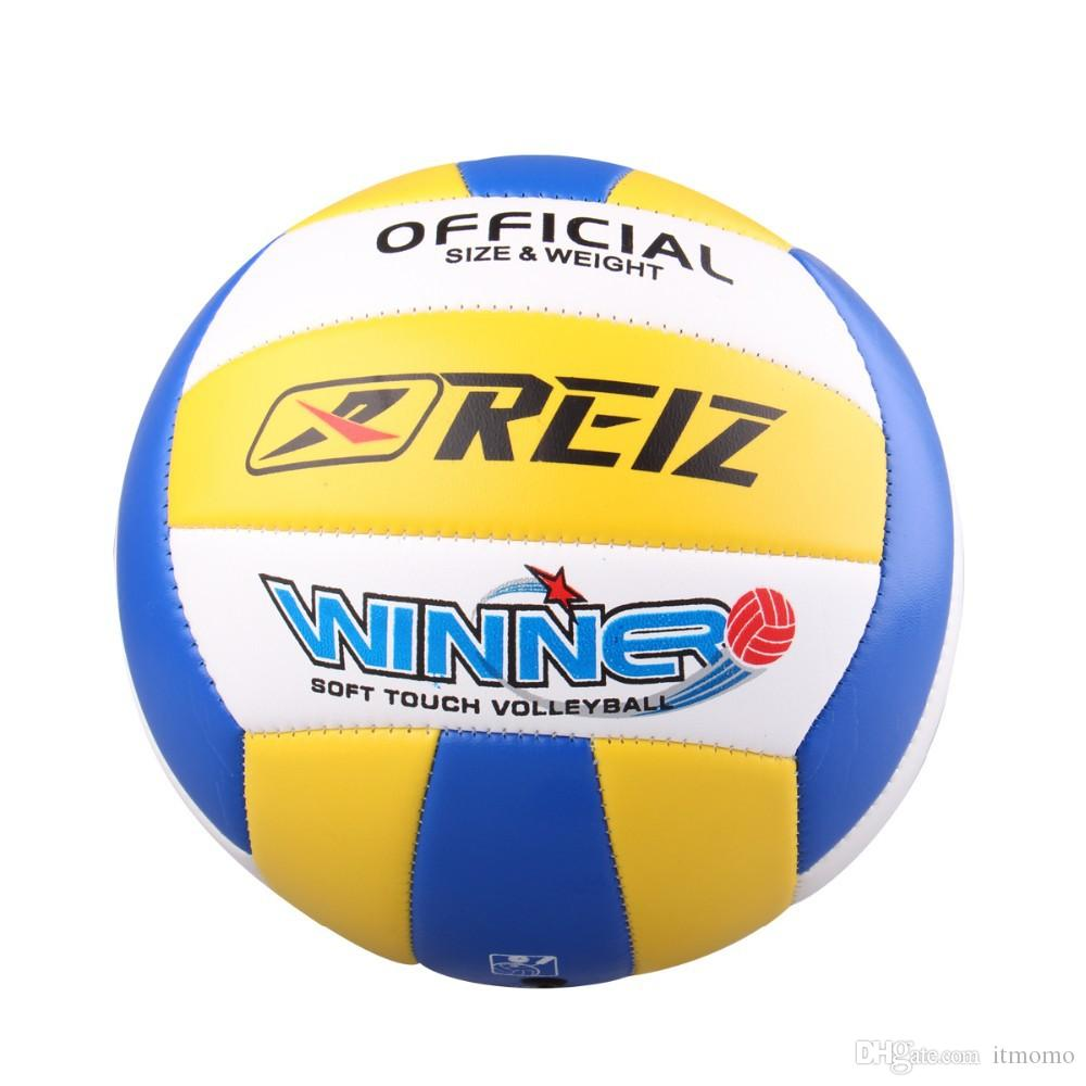 Free Shipping Official Volleyball volley High Quality Match Volleyball Training ball With Net Bag V602B