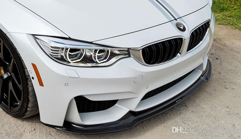 V Style Front Lip Spoiler For Bmw F80 M3 F82 F83 M4 2014up B265f Bmw