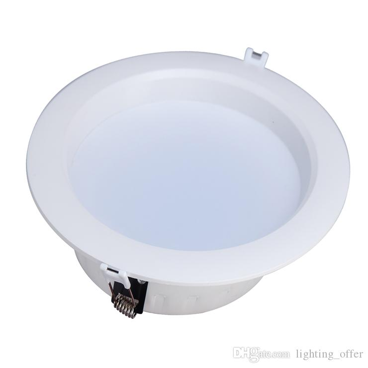 Bathroom Lights Downlights cheap 12 watt round led ceiling light recessed kitchen bathroom