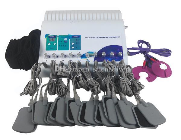 Hohe Qualität Tragbare EMS Infrarot Mikro Elektrische Strom Elektrotherapie EMS Muskelstimulator Tens EMS Eignungsmaschine Gewichtsverlust