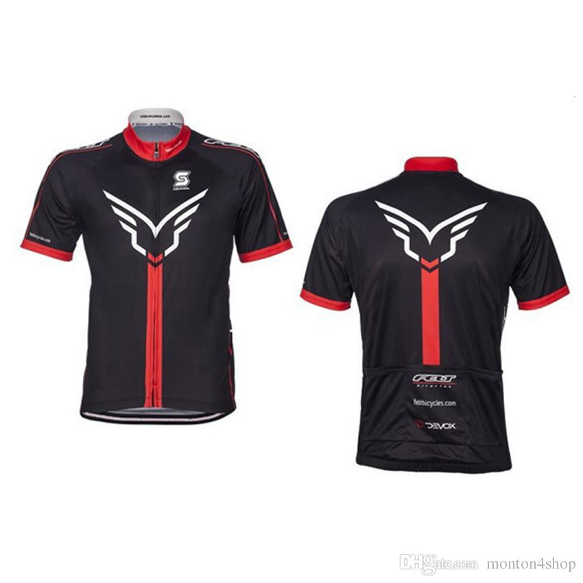 Felt 2018 Cycling Jersey Sportsman Wear Roupa De Ciclismo Maillot Cycling  Short Sleeve Hombre Bicycle Men St Mountain Bike Mtb Sports Shirts Mens Tops  From ... 7ebd76a82