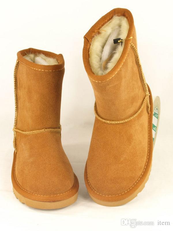 Compre Nueva Moda U G G Botas De Invierno Para Niños Botas De Nieve Cálidas  Niñas De Navidad Niños Niños Botas Botas De Nieve Australianas 5281 Zapatos  A ... 89afe4091093e