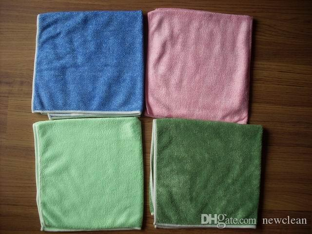 40x40cm 420gsm Microfiber Glass Towel Window Cleaning Cloths Micro Fibre Eyeglass Windshield Rag Towels Lint Free