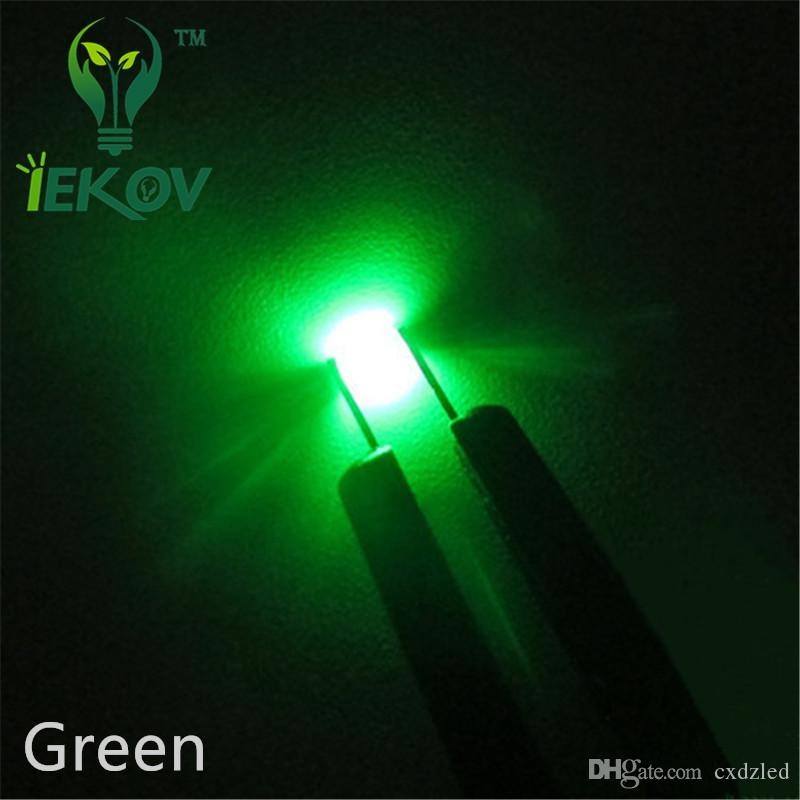 High Quality SMD 1206 Green led 520-530nm Super Bright Light Diode 3.0-3.2V SMD/SMT Chip lamp beads DIY Wholesale Retail