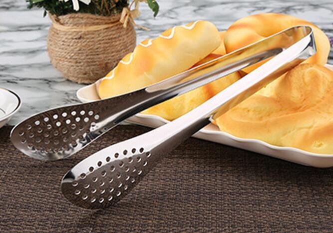 Yeni 9 inç Paslanmaz Çelik BARBEKÜ Buz Tong Gıda Pişirme Mutfak Alet Toptan Toplu Sürü Aksesuarları Malzemeleri Dişli Öğeleri Sayfalar ürünleri