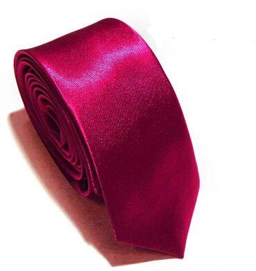 Wholesale New Mens Skinny Solid Color Plain Satin Tie Necktie silk Tie black and white necktie silk jacquard woven Tie Neck Ties