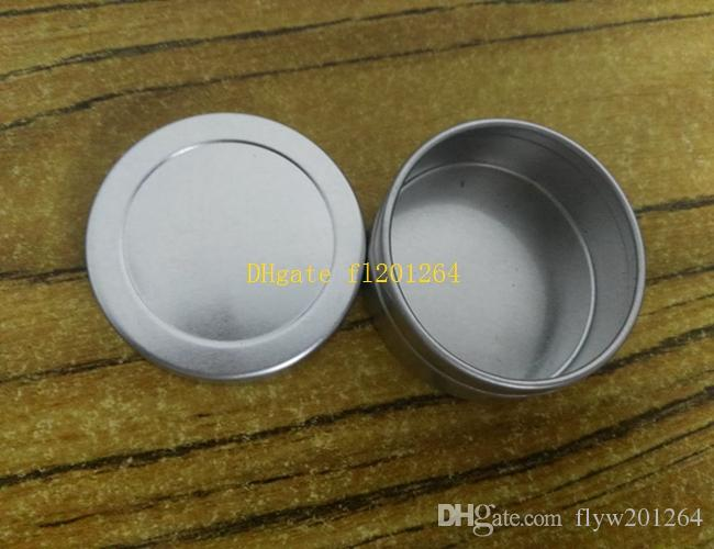 20g Metal Box 20ml Aluminum Jar lip gloss Container Tea Tin Cosmetics Packing bottle