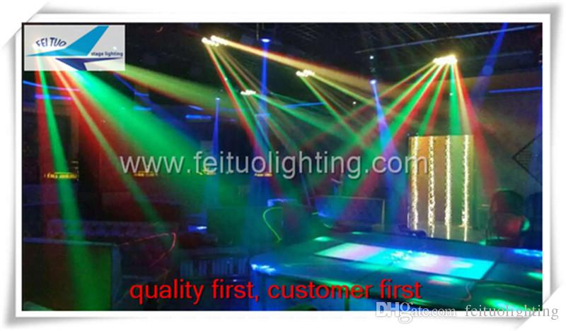 2lot / CASE Konzertbeleuchtung führte Spinnenlicht 8x10w 4in1 Moving Head Spider Flightcase