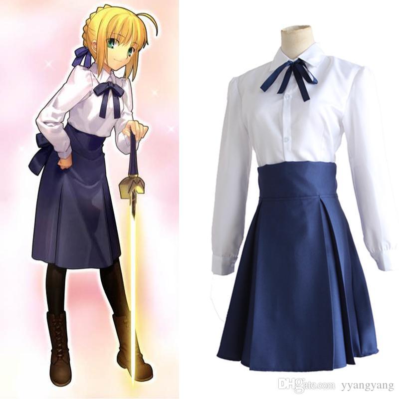 fatestay night saber arturia pendragon cosplay costume