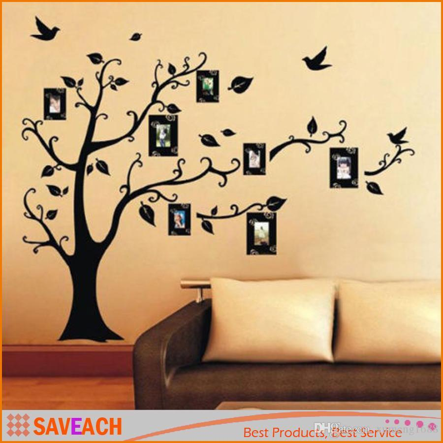 Family Tree Wall Decal Remove Wall Stick Photo Tree Wall Stickers Memory  Tree Photo Frame New 2015 Pvc Wall Decals Art Wall Stickers Artistic Wall  Decals ... Part 44