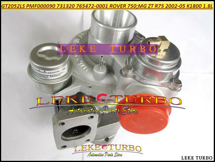 GT2052LS PMF000090 731320-5001S 765472-0001 Turbo Turbocharger For ROVER 75 2002 MG ZT R75 2002-05 K1800 18KAG 1.8L