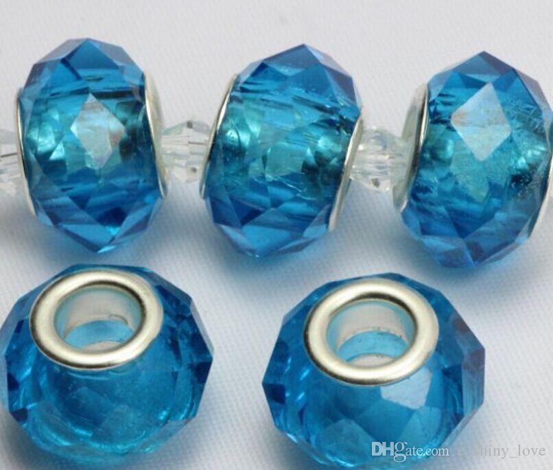 / branelli di cristallo sfaccettato alzavola monili che fanno incantesimi sciolti perline fai da te il commercio all'ingrosso del braccialetto in prezzo basso di massa