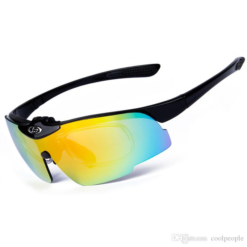 54449e2ed Compre Rimless Sports Polarized Óculos De Sol Das Mulheres Dos Homens Óculos  De Sol Ciclismo Óculos De Sol Proteção UV400 Mountain Bike Óculos De Sol De  ...
