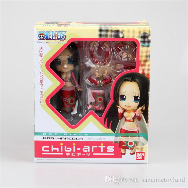 Suzannetoyland Nendoroid Hot Film Q Version ONE PIECE Boa Hancock Can Change Face Amine PVC Action Figure
