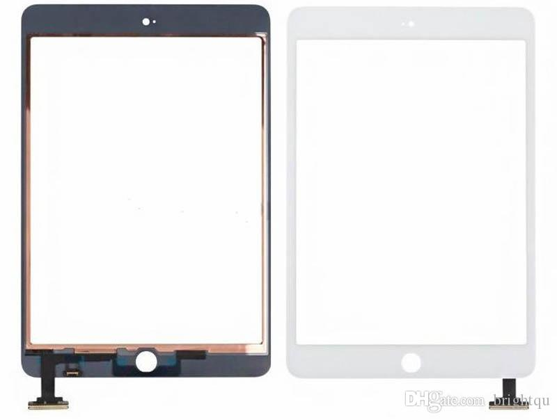 For iPad mini 1 2 3 Touch Screen Glass Digitizer Assembly with IC with Home Button & Adhesive Glue Sticker Replacement Repair Parts mini 5