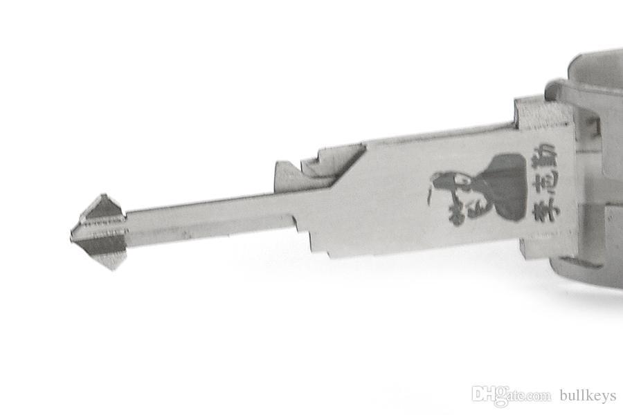 Lishi Key Reader auto tools TOY38R lock pick and decoder/car key decoder/locksmith tool for Hafei / charade car BK197