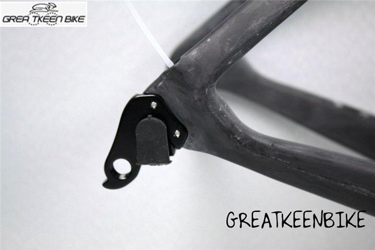 2016 GREATKEENBIKE Newest high quality carbon road frame full caron fiber road bike frameset carbon frame for