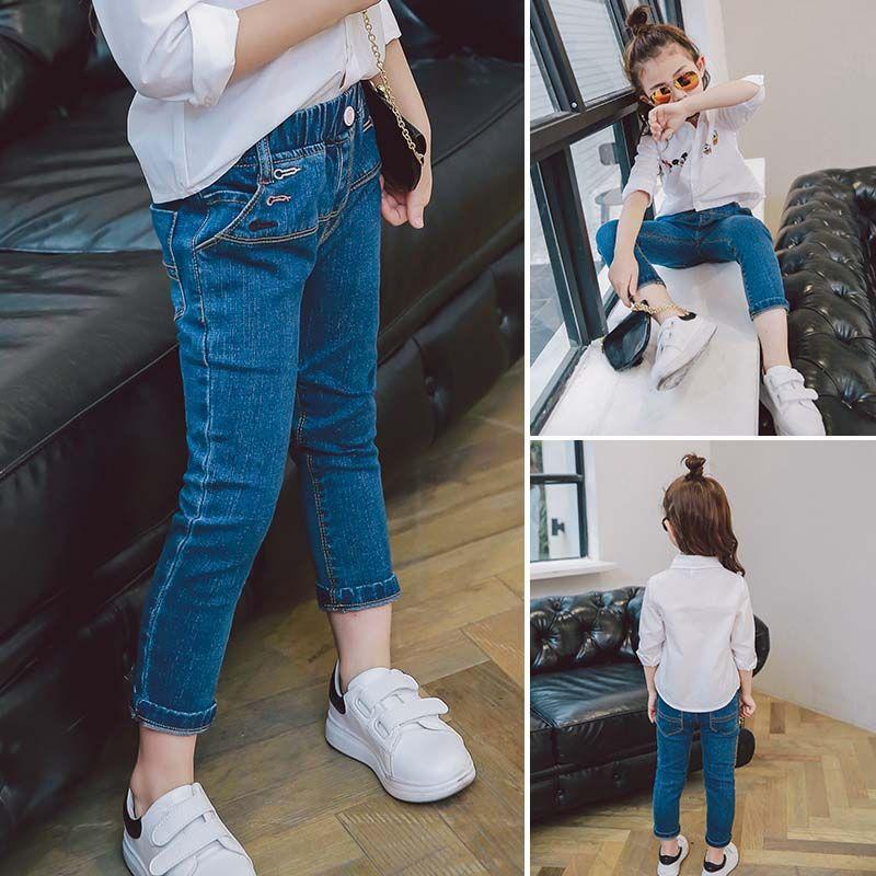 2017 fashion girls clothes korean fashion jeans denim