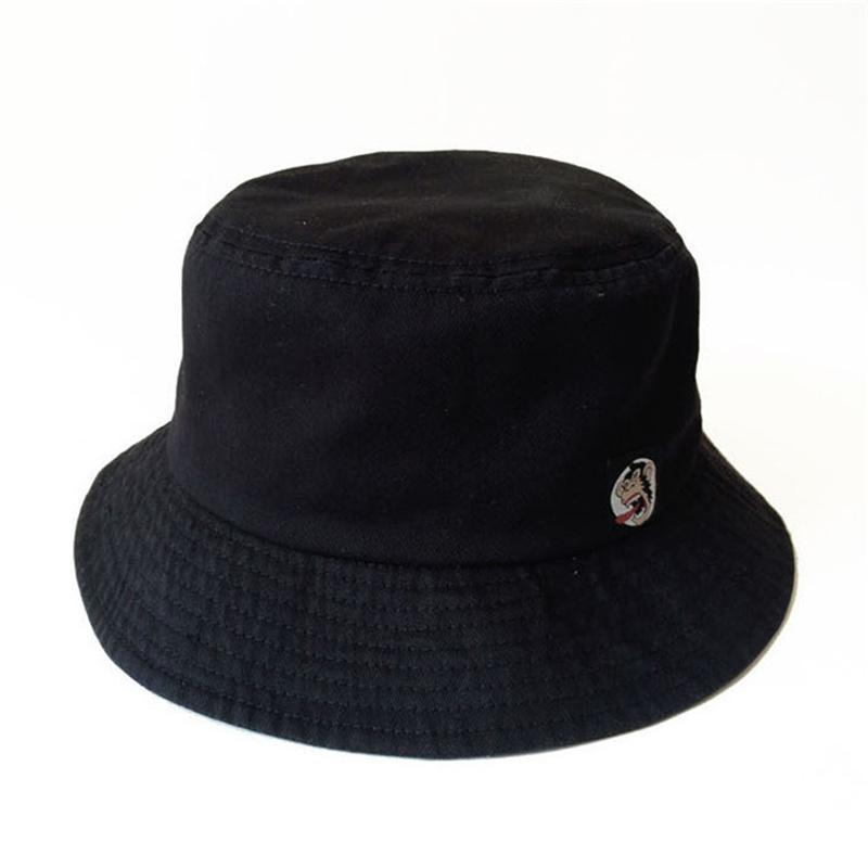 Cheap Black Bucket Hat Polo Casquette Chapeu Hip Hop Cotton ... 72889bb29e1