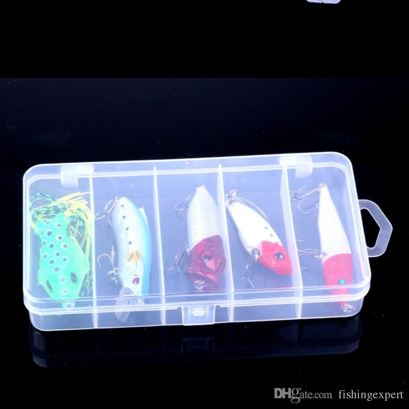 Box-packed Frog Soft Plastic Baits Popper Minnow Rattlin Fishing Lure 140g Sinking Pencil Hard Baits Suits for Saltwater