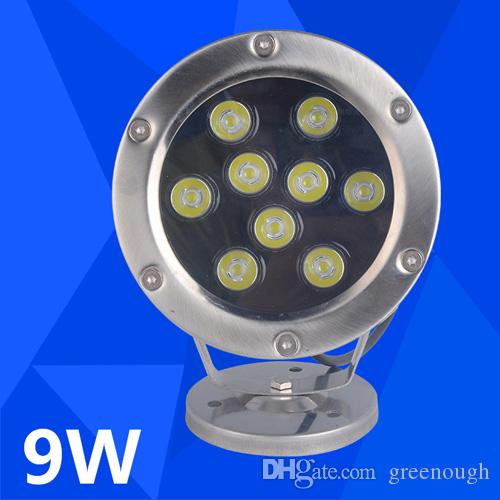 2020 9w 12v Led Underwater Fish Light Rgb Led Garden Lamp Swimming Pool Lights Led Landscape Lamp Spotlights From Greenough 148 41 Dhgate Com