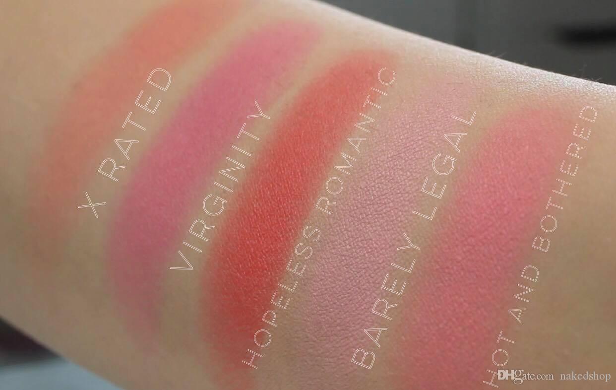 New Brand Blush Powder: CHOCOLATE CHERRY BANANA SPLIT STRAWBERRY SHORTCAKE Hopeless Romantic X Rated BLUSH BUNDLE