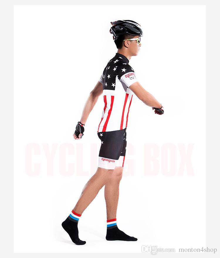 Mens USA Jersey ciclistica 2021 Maillot ciclismo, vestiti da bici da strada, abbigliamento da ciclismo biciclette D11