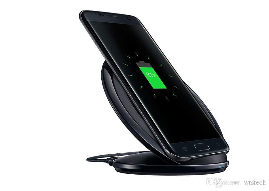 Support universel Qi chargeur sans fil charge rapide pour Samsung Note pad pad mobile Galaxy S6 s7 Edge avec paquet de détail